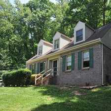 Rental info for Charming Brick Home in Fountain City/Halls