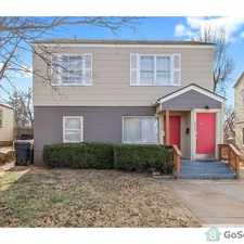 Rental info for Downstairs apartment in duplex, Move in ready! 2 Bed, 1 Bath in the Oklahoma City area