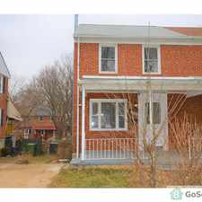 Rental info for Beautiful Fully Renovated 3 bedroom Townhome in the Baltimore area
