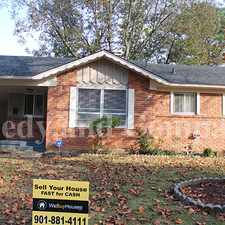 Rental info for Great neighborhood in the Memphis area