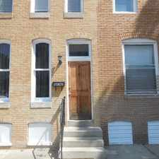 Rental info for 414 East Lanvale Street in the Baltimore area