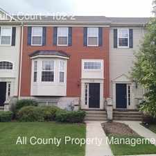 Rental info for 765 Thornbury Court in the Bartlett area
