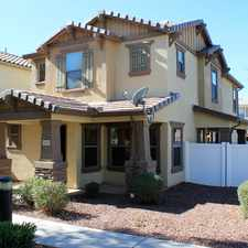 Rental info for 3849 East Jasper Drive in the Gilbert area