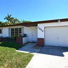 Rental info for 7650 Southwest 105th Terrace in the Pinecrest area