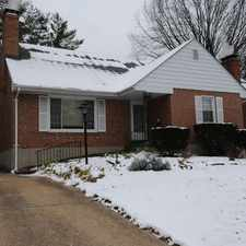 Rental info for 4 Bedrooms House - Louis Bel-Nor Area Located I... in the St. Louis area