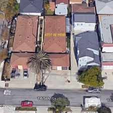 Rental info for 4757 W. 165th Street in the 90278 area