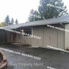 Rental info for 31817 120th Ave SE