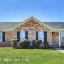 Rental info for 3708 Colbert Street in the Augusta-Richmond County area