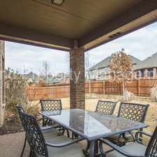 Rental info for Gorgeous 4 bedroom, 3.5 bath, 3 car garage in The Bluffs in the Fort Worth area