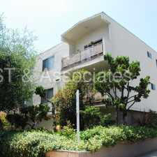 Rental info for Bright Upper 1 +1 with Balcony in Brentwood! in the Los Angeles area