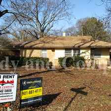 Rental info for Pretty 3 Bedroom Home! in the Memphis area