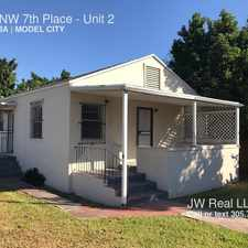 Rental info for 5901 NW 7th Place in the Miami area