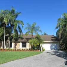 Rental info for 15531 Southwest 54th Terrace in the Kendall West area