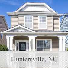 Rental info for House In Great Location in the Huntersville area