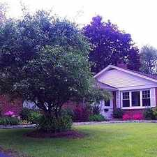 Rental info for No-step Ranch, With Updated Kitchen. Pet OK!