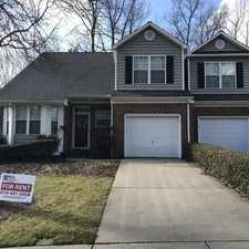 Rental info for 3 Bedroom, 2. 5 Bath Townhome In Fantastic Nort... in the Raleigh area