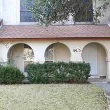 Rental info for 11910 Apple Blossom in the San Antonio area