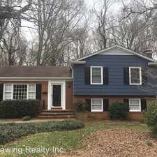 Rental info for 6408 Hazelton Drive in the Beverly Woods area