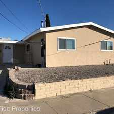 Rental info for 5466 Conrad Ave in the San Diego area