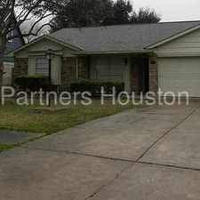 Rental info for 1711 Indian Wells Drive, Missouri City, TX 77459 in the Missouri City area