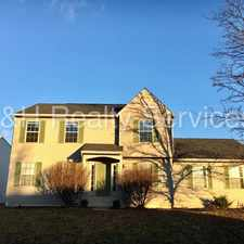 Rental info for Coming Soon - Beautiful Home in Wayne Township in the Key Meadows area