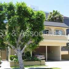 Rental info for Recently Renovated Upper 1 + 1 with Balcony & Fireplace! in the Santa Monica area