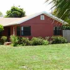 Rental info for LOCATION, LOCATION, LOCATION. 55TH AND FLAGLER, INTERCOASTAL VIEW, CLOSE TO PARK, CLEMATIS, CITY PLACE.2 BR, 1 BATH, LIVING ROOM, KITCHEN, FENCED BACK YARD WITH PATIO. EXTRA PARKING IN BACK. DEPOSIT IS NEG. CALL 561-842-8041 in the West Palm Beach area