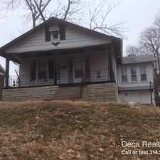 Rental info for 1314 Haley Ave in the St. Louis area