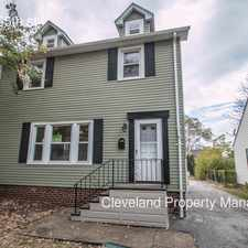 Rental info for 4892 E 85th st in the Cleveland area