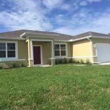 Rental info for New Construction Home in the Cape Coral area