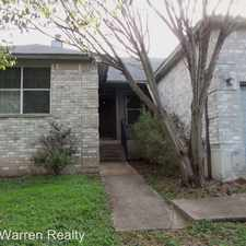 Rental info for 7209 Oak Meadow #A in the Austin area