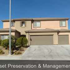 Rental info for 4714 Prairie Coach Ave. in the Las Vegas area