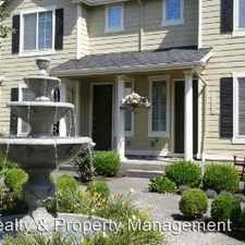 Rental info for 11647 SW Waterthrush Ter. in the Portland area