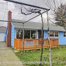 Rental info for 8024 SE Francis Street in the Foster-Powell area