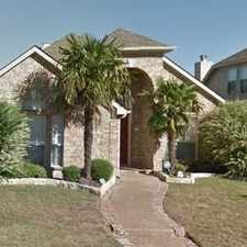 Rental info for Gorgeous Property With Open Floor Plan Offers 3... in the Allen area