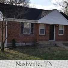Rental info for Really Cool 3 Bedroom In Donelson! in the Nashville-Davidson area