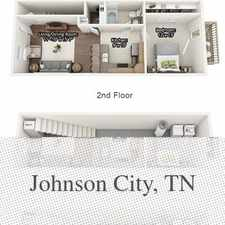 Rental info for Johnson City, Great Location, 1 Bedroom Townhouse. in the Johnson City area