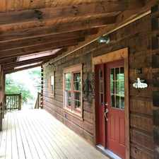 Rental info for 4 Bedroom 3 Bath Log Home Situated On Over 13 A...
