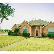 Rental info for Beautiful Single Family Home On A Corner Lot In... in the Plano area