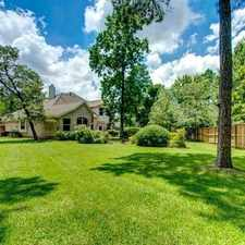 Rental info for Beautiful Horton Home, Very Well Maintain. in the The Woodlands area