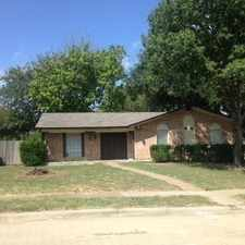 Rental info for House For Rent In Plano. Washer/Dryer Hookups! in the Plano area