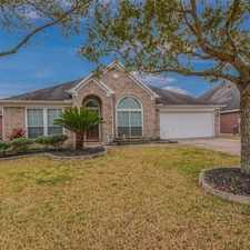 Rental info for Rare Find For One Story With 4 Bedrooms, 3 Full... in the League City area