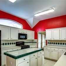 Rental info for Beautiful Single Story Home In The Heart Of Plano! in the Plano area