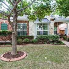 Rental info for Charming Home In A Highly Desired Frisco ISD. in the Frisco area