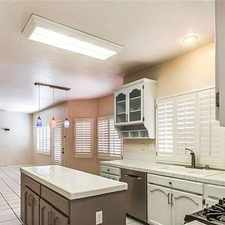 Rental info for Beautiful 4 Bedroom Home Located On Quiet. Park... in the El Paso area