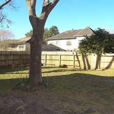 Rental info for Spacious 4 Bedroom, 2.50 Bath in the Houston area