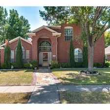 Rental info for Beautiful And Spacious Home In The Sought After... in the Plano area