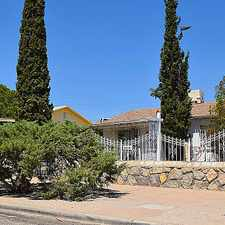 Rental info for House For Rent In El Paso. Washer/Dryer Hookups! in the Summit Place area
