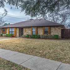 Rental info for 3852 Westminster Drive Carrollton, TX 75007 in the Dallas area