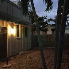Rental info for 813 NE 19th Ave 1 in the Fort Lauderdale area